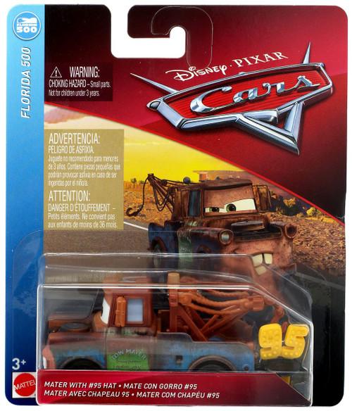 Disney / Pixar Cars Cars 3 Florida 500 Mater with #95 Hat Diecast Car