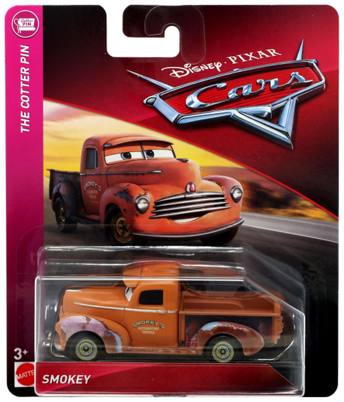 Disney / Pixar Cars Cars 3 The Cotter Pin Smokey Diecast Car