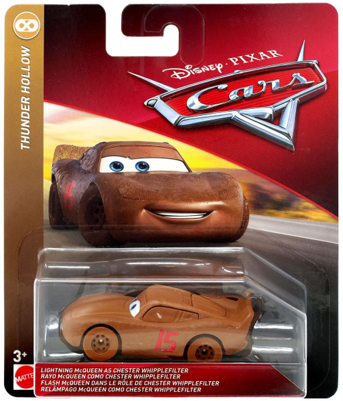 Disney / Pixar Cars Cars 3 Thunder Hollow Lightning McQueen as Chester Whipplefilter Diecast Car