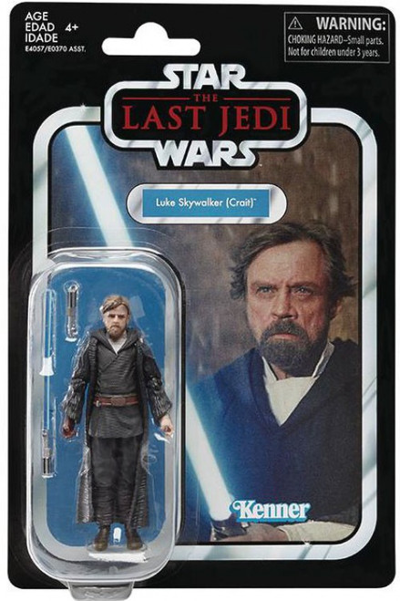 Star Wars The Last Jedi Vintage Collection Wave 21 Luke Skywalker Action Figure [Crait]