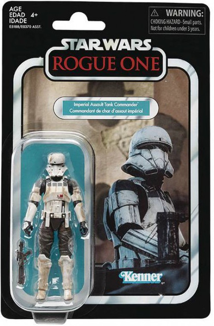 Star Wars Rogue One Vintage Collection Wave 21 Imperial Assault Tank Commander Action Figure