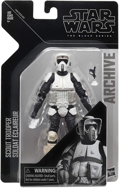 Star Wars Return of the Jedi Black Series Archive Wave 2 Scout Trooper Action Figure