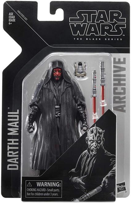 Star Wars The Phantom Menace Black Series Archives Wave 2 Darth Maul Action Figure