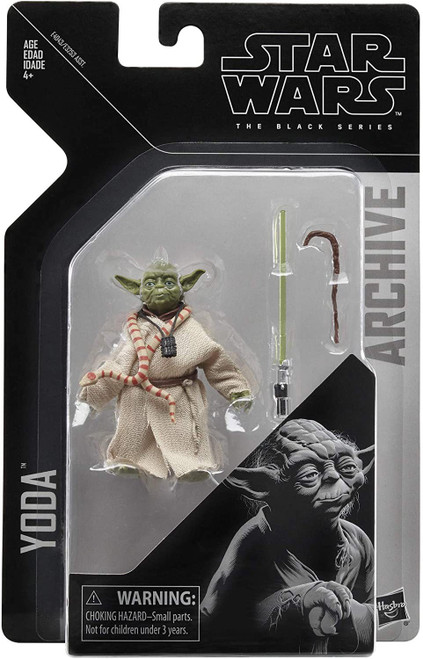 Star Wars The Empire Strikes Back Black Series Archive Wave 2 Yoda Action Figure