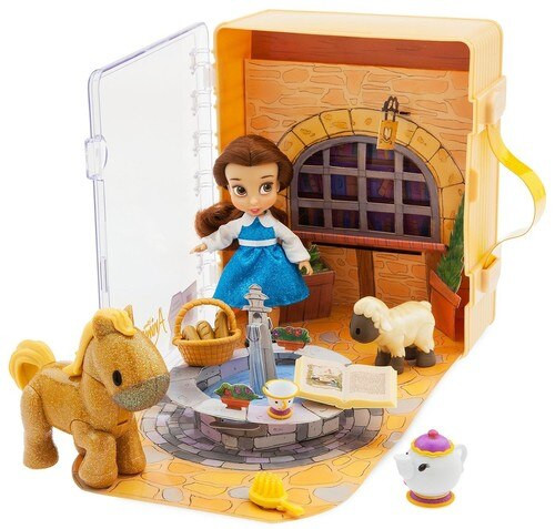 Disney Beauty and the Beast Animators' Collection Belle Exclusive Mini Doll Playset
