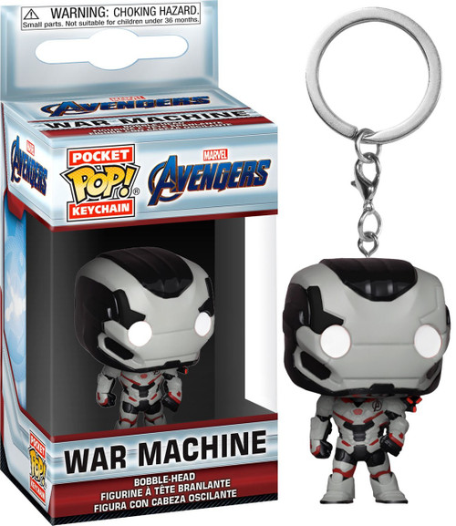 Funko Avengers POP! Marvel War Machine Keychain