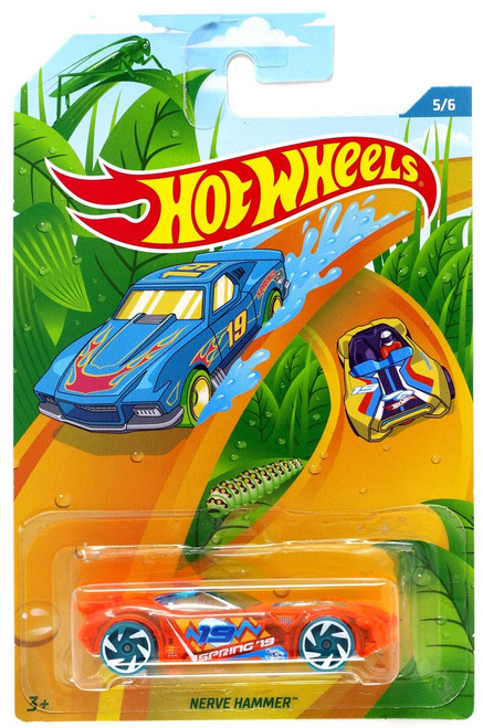 Hot Wheels Spring 2019 Nerve Hammer Diecast Car #5/6