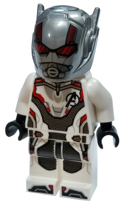 LEGO Marvel Super Heroes Avengers Endgame Ant-Man Minifigure [White Jumpsuit Loose]