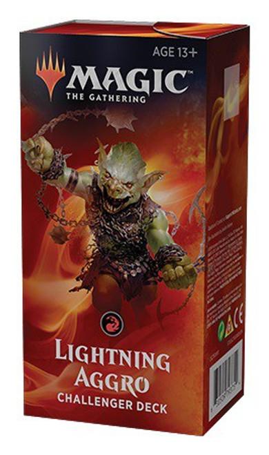 MtG Trading Card Game 2019 Lightning Aggro Challenger Deck
