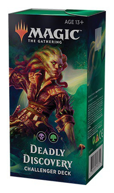 MtG Trading Card Game 2019 Deadly Discovery Challenger Deck