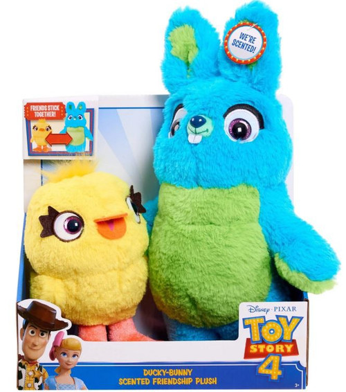 Toy Story 4 Ducky-Bunny 12-Inch Plush 2-Pack [Scented Friendship]