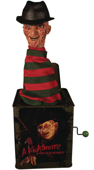 A Nightmare on Elm Street Freddy Krueger 14-Inch Burst A Box