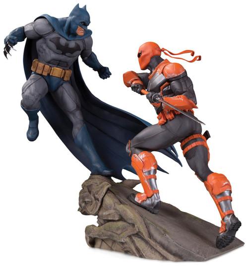 DC Batman Vs. Deathstroke 11.2-Inch Battle Statue