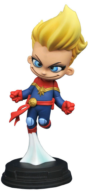 Captain Marvel 4-Inch PVC Figure Statue [Cartoon Style]