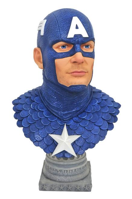 Marvel Legendary Comic Captain America Half-Scale Bust [1/2 Scale]