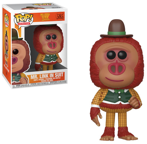 Funko POP! Movies Mr. Link In Suit Vinyl Figure #585