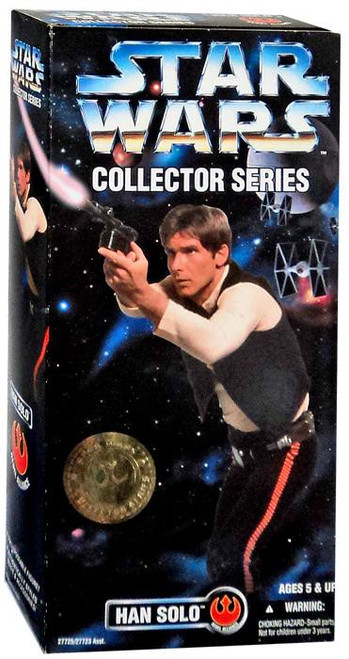 Star Wars A New Hope Collector Series Han Solo Action Figure
