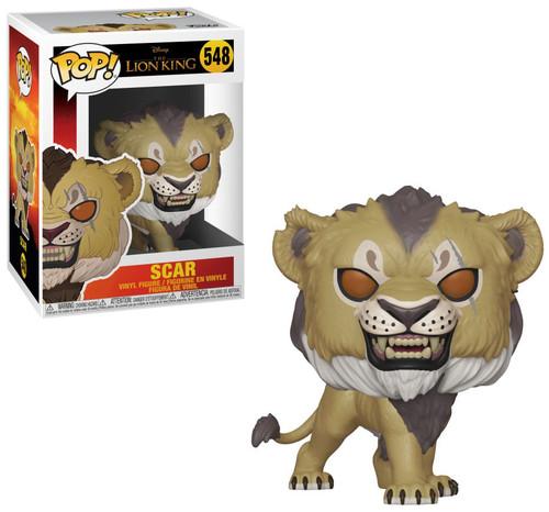 Funko The Lion King POP! Disney Scar Vinyl Figure [Live Action]
