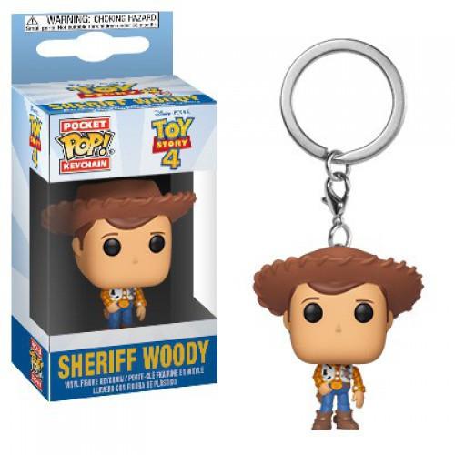 Funko Disney / Pixar Toy Story 4 Pocket POP! Woody Keychain [TS4]