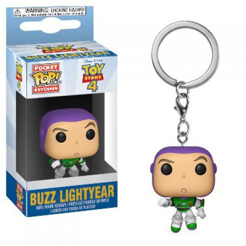 Funko Disney / Pixar Toy Story 4 Pocket POP! Buzz Lightyear Keychain [TS4]