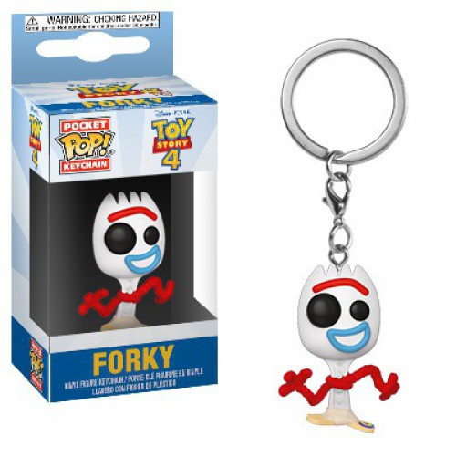 Funko Disney / Pixar Toy Story 4 Pocket POP! Forky Keychain [TS4]