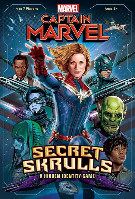 Captain Marvel Secret Skrulls Board Game