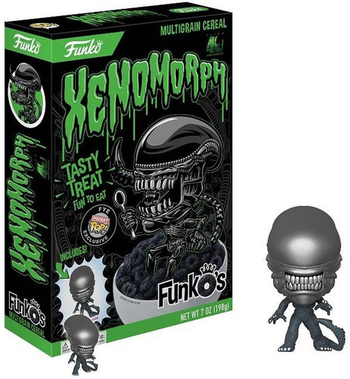 FunkO's Alien Xenomorph Exclusive 7 Oz. Breakfast Cereal