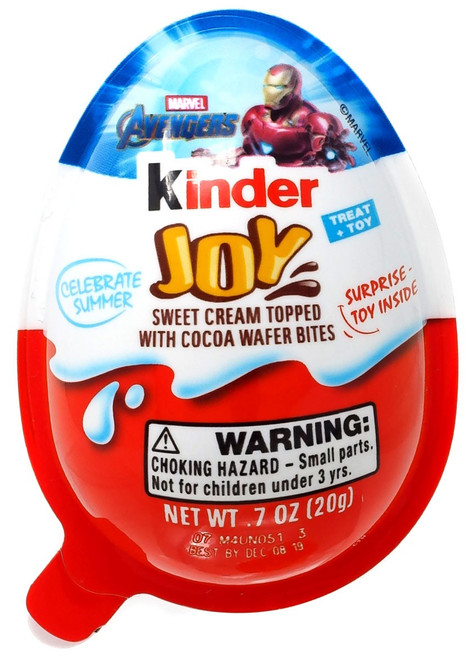 Kinder Joy Avengers Chocolate Surprise Egg