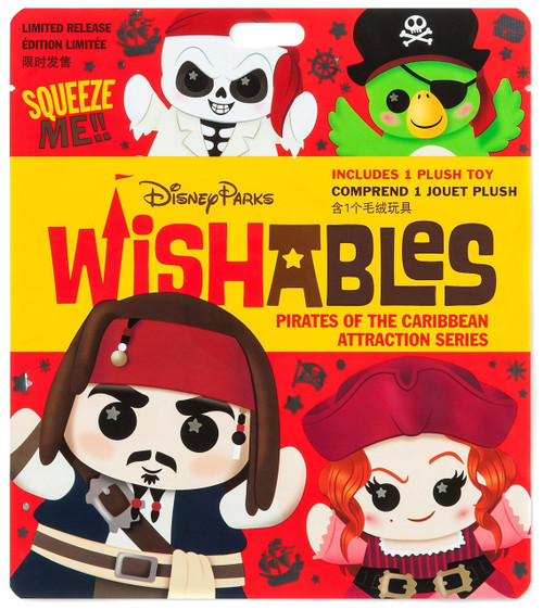 Disney Wishables Pirates of the Caribbean Attraction Exclusive 5-Inch Micro Plush Mystery Pack
