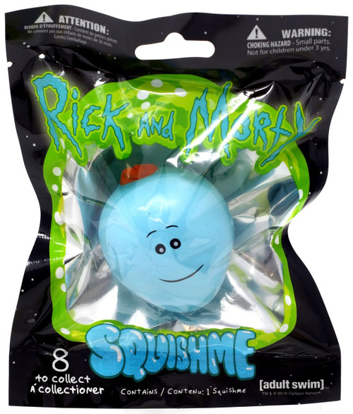Rick & Morty Squishme Mr. Meeseeks Squeeze Toy