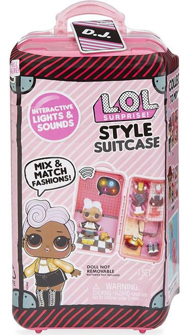 LOL Surprise Style Suitcase D.J. Accessory