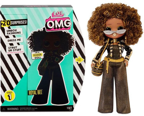 LOL Surprise OMG Series 1 Royal Bee Fashion Doll