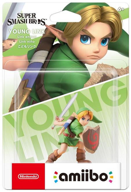 Nintendo Super Smash Bros Amiibo Young Link Mini Figure