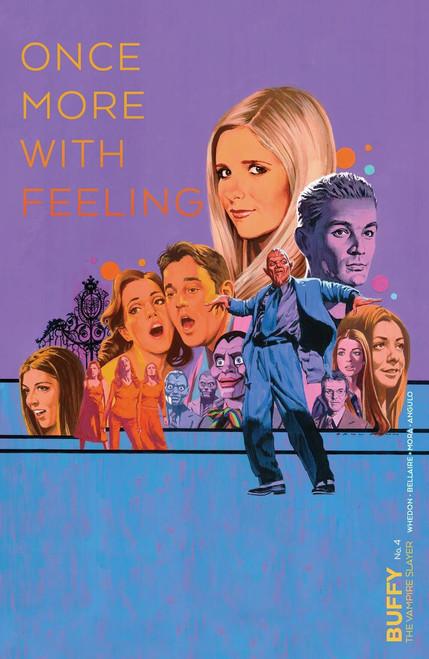 Boom Studios Buffy The Vampire Slayer #4 Comic Book [Paul Mann Variant Cover]