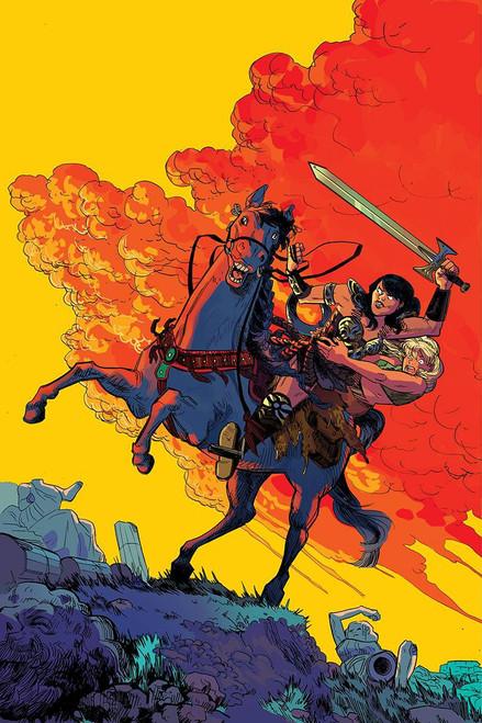 Dynamite Entertainment Xena Warrior Princess #1 Comic Book [Erica Henderson Virgin Variant]