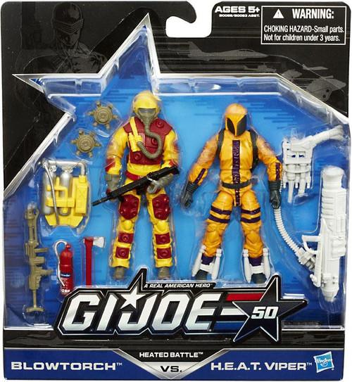 GI Joe 50th Anniversary Heated Battle Action Figure 2-Pack [Damaged Package]