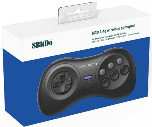 8bitdo 2.4G M30 Wireless Game Pad [For MD/Genesis]