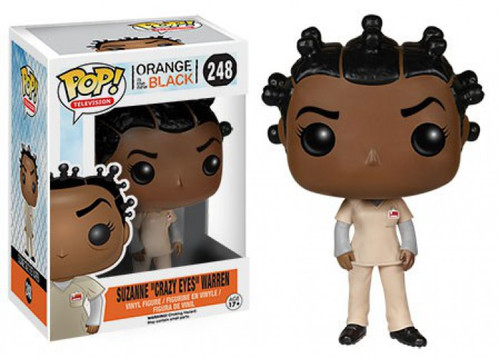 "Funko Orange is the New Black POP! TV Suzanne ""Crazy Eyes"" Warren Vinyl Figure #248 [Damaged Package]"