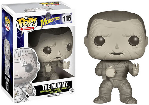 Funko Universal Monsters POP! Movies The Mummy Vinyl Figure #115 [Damaged Package]