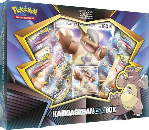 Pokemon Trading Card Game XY Kangaskhan GX Box [4 Booster Packs, Promo Card & Oversize Card]