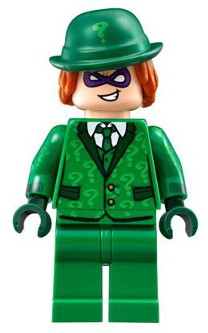 DC Universe Super Heroes The LEGO Batman Movie The Riddler Minifigure [Suit and Tie Loose]