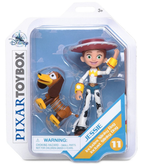 Disney Toy Story 4 Toybox Jessie Action Figure [With Slinky Dog]