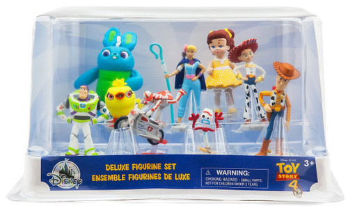 Disney Toy Story 4 9-Piece Deluxe PVC Figure Play Set