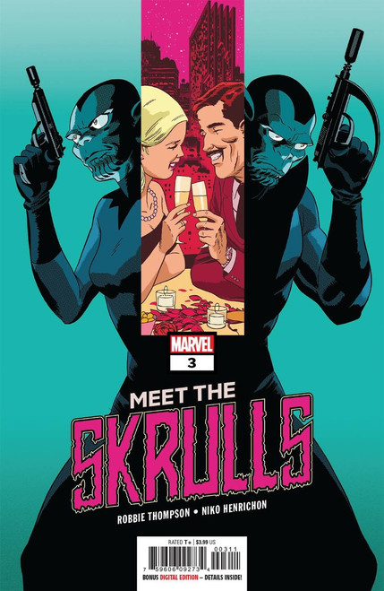 Marvel Comics Meet the Skrulls #3 Comic Book