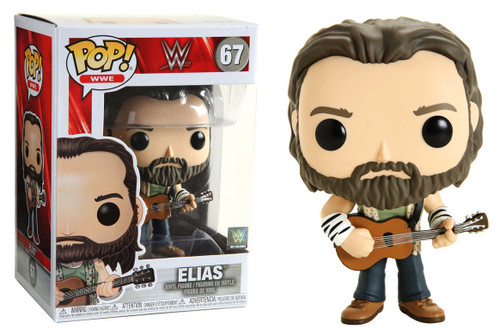 Funko WWE Wrestling POP! Sports Elias Vinyl Figure [with Guitar]