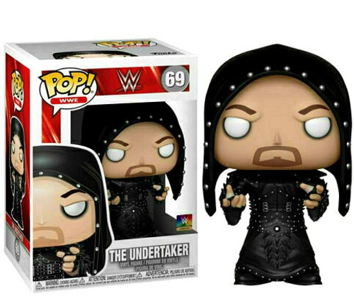 Funko WWE Wrestling POP! Sports Undertaker Vinyl Figure #69 [Hooded]