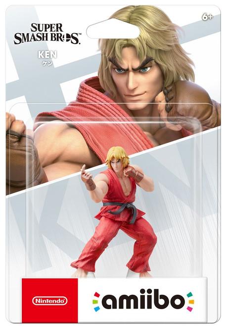 Nintendo Super Smash Bros Amiibo Ken Mini Figure