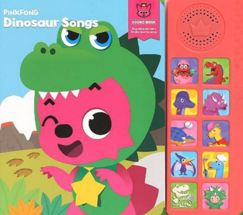 Pinkfong Dinosaur Songs Sound Book
