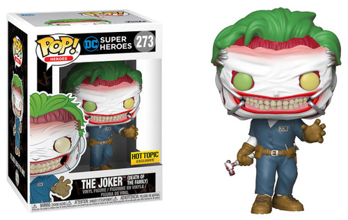 Funko DC Universe POP! Heroes The Joker Exclusive Vinyl Figure #273 [Death of the Family, Damaged Package]