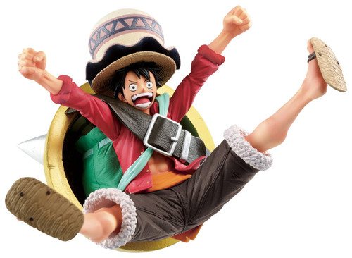 One Piece: Stampede Ichiban Monkey D. Luffy 3.14-Inch Collectible PVC Figure